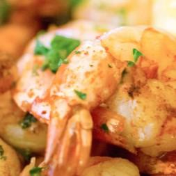 Perfect Pairing: Chardonnay & Garlic Shrimp
