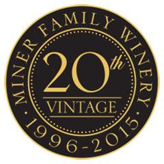 Miner 20th Vintage Logo Black & Gold