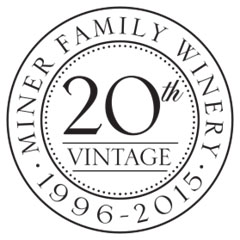 Miner 20th Vintage Logo Black & White