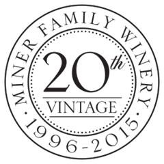 Miner 20th Vintage Logo Black & White
