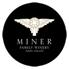 Miner Logo White and Gold