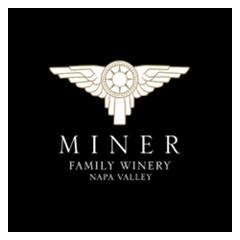 Miner Logo White and Gold