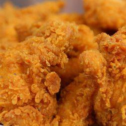 Recipe: Extra Crispy Chicken with Honey Mustard Sauce