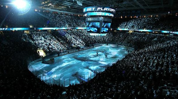 An Afternoon at SAP Center