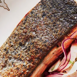 Recipe: Crispy Salmon with Fennel Slaw