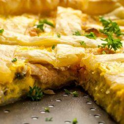 Recipe: Smoked Salmon and Leek Tart